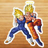Vegeta vs Goku Dragon Super Saiyan Ball Car Die Cut Window Vinyl Decal Sticker