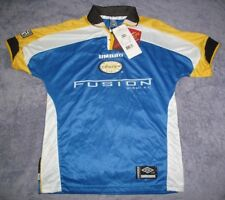 Miami Fusion NWT 2000 Home Blue Umbro Jersey Men XS Rare