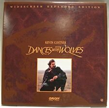 Dances with Wolves (Laserdisc, 1990, Widescreen Expanded Edition, New Sealed)