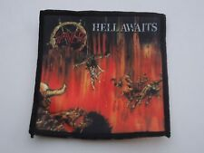 SLAYER HELL AWAITS SUBLIMATED PATCH