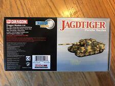 1/72 Dragon Armor German Jagdtiger Tank Destroyer Die-cast #60127 NIB