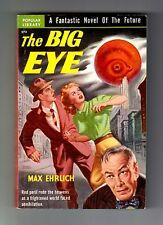 THE BIG EYE (Max Ehrlich/1st US pb/holocaust/artist Earl Bergey)