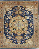 Palace Size Oriental Decorative Rugs Hand-Knotted Geometric Wool Carpet 14 x 15
