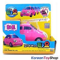 The Little Bus Tayo HEART Model Main Diecast Plastic Mini Car Toy Pink Original