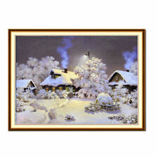 1set Winter wonderland Diamond embroidery painting cross stitch home decor FO