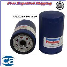 Oil Filter Synthetic Set of 10 For Mazda CX-9 Ford Ranger Jaguar X-Type 4.2L4.6L