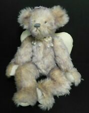 Annette Funicello Purple Mohair Angel Bear with Tags