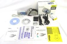 Nikon Coolpix 2500 Digital Camera Battery Charger Compact Flash Card Case Cords
