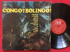 CONGO? BOLINGO! ~ ORCHESTRE NEGRO BAND ~ RARE AFRICAN LP NIGERIA PRESS PATHE