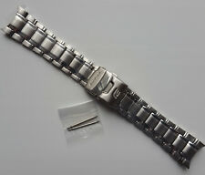 Genuine Replacement Watch Band 24mm Stainless Steel Bracelet Casio EF-545D-1A