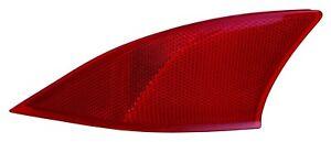 LEXUS IS250C IS350 2014-2015 LEFT DRIVER REAR REFLECTOR BUMPER LIGHT LAMP