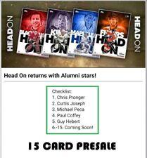 TOPPS NHL SKATE HEAD ON ALUMNI (15 CARD PRESALE) Peca/Coffey/Hebert+++ DIGITAL