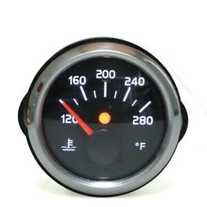 52mm Digital Black Face 2 Color LED Water Temperature Temp Gauge Meter 120-280°F