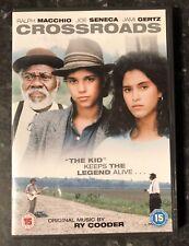 CROSSROADS DVD 1986 (RALPH MACCHIO) RARE AS GOOD AS NEW MINT CONDITION