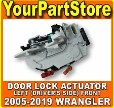 Power Door Lock Actuator Driver's Side LEFT FRONT for 2005-2019 Jeep Wrangler TJ