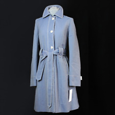"ERICH FEND ""ADISKA"" Trenchcoat Neu UVP 229€ Mantel Größe 38 / 40 - Blau jacke"