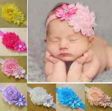 New 10PCs Kid Girl Baby Toddler Infant Flower Headband Hair Bow Band Accessories