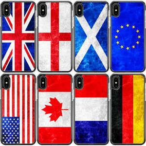 Vintage Country Flag British Phone Case For iPhone 13 Pro Max 12 Mini 11 XR 8 7