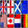Vintage Flag Country Hard Phone Case For iPhone XR X XS Max 8 Plus 7 6 6S 5 SE