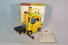 DINKY TOYS 404 CONVEYANCER FORK LIFT TRUCK YELLOW MINT BOXED RARE SELTEN!