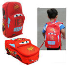New Child Disney Pixar Cars McQueen Kids Boy's Backpack School Bag S M L 1-4Y