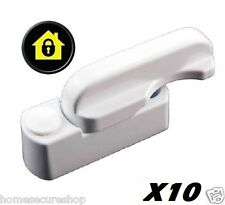 10 X Sash Jammers uPVC Windows & Door Swing Locks. Added Security. UK Seller