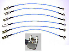 """1 FLEXIBLE 9.75"""" MICROWAVE COAX CABLE F to PCB SS-405"""