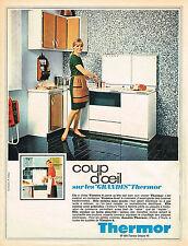 PUBLICITE   1967   THERMOR  cuisinières gazinières VICTOIRE
