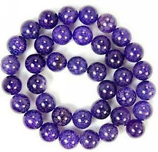 "6mm Purple Dragon Veins Agate Round Loose beads 15"" AAA"