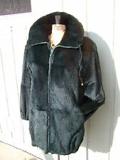 REDUCED Absolutely Gorgeous Womans SOFT Sheared Fur Coat Size Medium/ Large