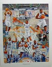 "New UK, University of Kentucky Basketball ""Wildcats 11-12"" Champs Print Sig#d"