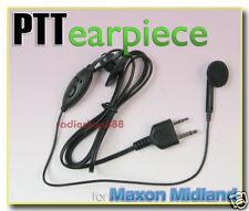 Earpiece Microphone / PTT for Midland radio LXT110 04S2