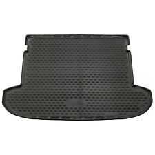 Hyundai Tucson 15-18 Rubber Boot Liner Tailored Fitted Black Floor Mat Protector