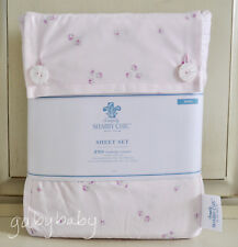 Rachel Ashwell Simply Shabby Chic Ditsy Rose Rosebuds on PINK King Sheet Set