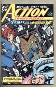 Action Comics #624-1988 vf+ 8.5 Superman / DC Green Lantern Giant-Size Deadman