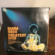 DIANA ROSS - GREATEST HITS- 1971 VINYL LP - UK PRESS EXC/EXC -A2/B3