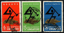 Singapore 1968 SG#98-100 National Day Used Set #D47011