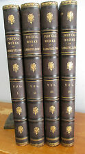 1881-2 The Poetical Works of HENRY WADSWORTH LONGFELLOW Illustrated, 4 Vols