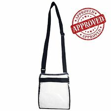 Transparent Shoulder Bag Pvc Messenger Clear Cross Body Bags With Gold Chai M7X7