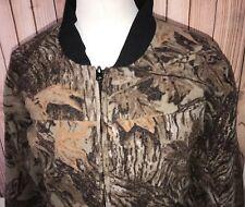 Vintage Gander Mountain Sz L Hunting Jacket Camo Camoflage Polyester Sympatex