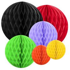 Wabenball 10, 20 oder 30cm viele Farben Honeycomb Wabenbälle aus Seidenpapier