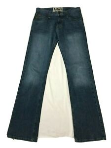 Ariat Men's 30x36 M7 Rocker Boot Cut Medium Wash Denim- **Excellent Condition**