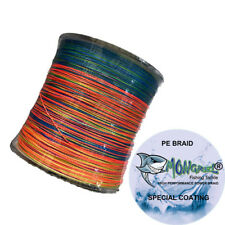 New Braid Fishing Line 100 LB 500M Mongrel Fishing Tackle Braid Multi RRP $35.00