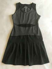 Athleta Bob & Weave Active Dress XXS Black Gray Tennis Golf Running Exercise EUC