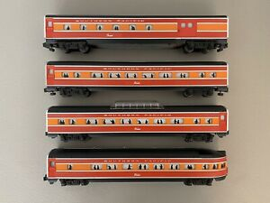 American Flyer 4-9500 to 4-9503 :: Southern Pacific Passenger Car Set S Scale