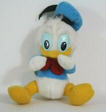 "Vintage Playskool Disney Babies 7"" Donald Duck Plush Stuffed Animal Toy1984"
