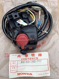 NOS GENUINE Honda Kill Switch Switchear for Honda XL175 K2 1975 (35150-362-772)