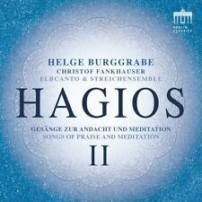 HAGIOS II-GESÄNGE ZUR ANDACHT UND MEDITATION - ELBCANTO/BURGGRABE/+ CD NEU