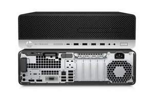 SFF HP ELITEDESK 800 G4 DESKTOP i7 8700, 256GB NVMe , 8GB, Win10 Pro, 1YR WTY