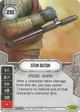 x1 Stun Baton 74 Rare Star Wars Destiny Legacies M/NM